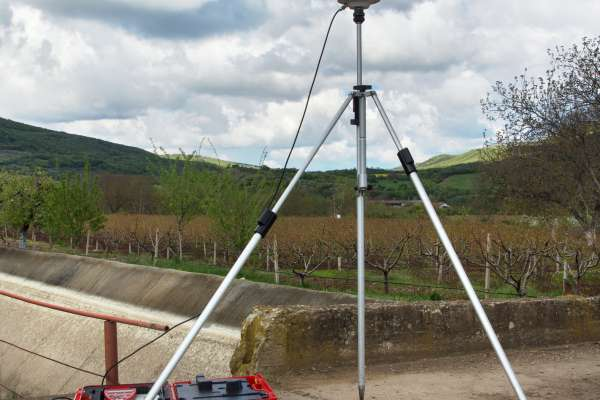 Static geodetic measurement with GPS
